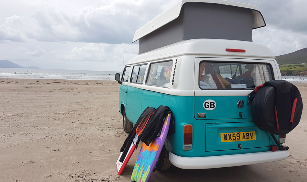 VW campervan self-drive hire in the Midlands